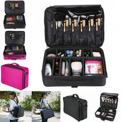 13/16'' Professional Makeup Bag Cosmetic Case Storage Organi