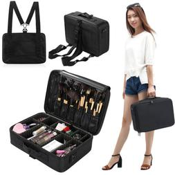 16'' Professional Makeup Bag Cosmetic Case Storage Organizer