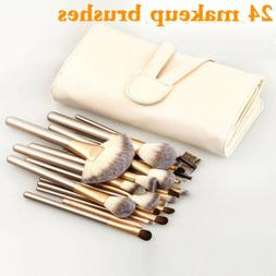 24pcs set makeup brushes face powder eyeshadow