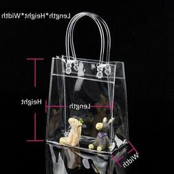 Women Clear Tote Bag PVC Transparent Handbag Shoulder Shoppe