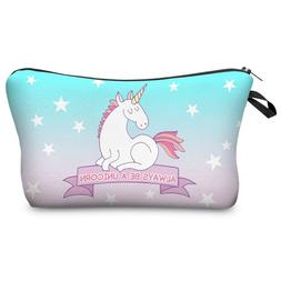 Jom Tokoy 3D Printing Unicorn Makeup Bag/Pencil Case Multico