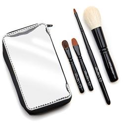 aaf57865e8bd Bella Mini Travel Makeup Brush Set with Mirror Travel Case
