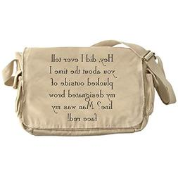 0043f710d9 CafePress Brow Line Unique Messenger Bag