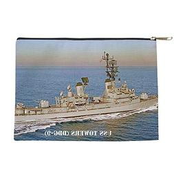CafePress - Towers Framed Panel Print - Makeup Pouch