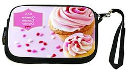 Rikki Knight Obsessive Cupcake Disorder Pink Frosted Cupcake