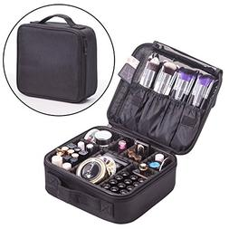 Cosmetic Travel Bag Makeup Organizer - Make up Bags with Com
