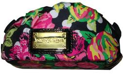 Betsey Johnson Women's Cosmetic Bag, Small, Blooming Flowers
