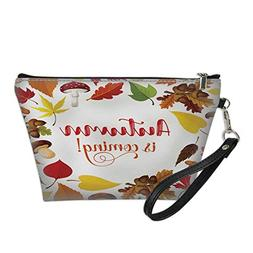 cosmetic bag bulkwaterproof makeup bagAutumn poster with fal