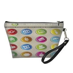 cosmetic bag bulkwaterproof makeup bagthanksgiving day icon