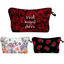 Cosmetic Bag Cartoon Printing Makeup Bag Travelling Case
