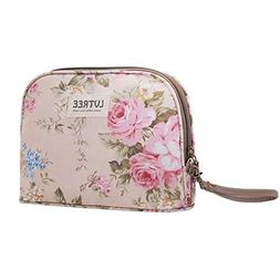 Lvtree Cosmetic Bag Makeup Case Toiletry Bag, Portable Small