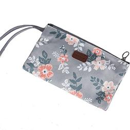 Makeup Bag Cosmetic Pouch Small Clutch Wallet for Women,Trav
