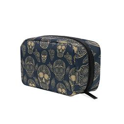 ALAZA Cosmetic Bag Makeup Bag Toiletry Travel Bag Handy Larg