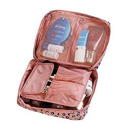 L&FY Cosmetic Makeup Bag Toiletry Travel Kit Organizer