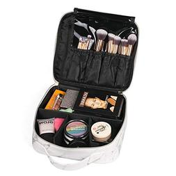 03ccee4385f9 Travel Makeup Bags WELLANCE Small Cosmet...