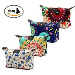 HOYOFO Women's Travel Cosmetic Bags Small Makeup Clutch Po
