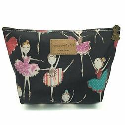 HUNGER Ballet Girl Make-Up Cosmetic Tote Bag Carry Case , 14