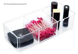 PuTwo Makeup Organizer Bathroom Storage Tray Acrylic Makeup