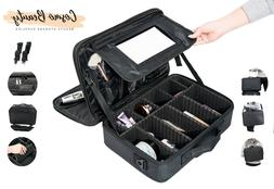 Beauty Travel Makeup Case Large Professional Artist 3 Layers