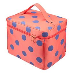 EN'DA Big Cosmetic Travel Cases with quality zipper Makeup b
