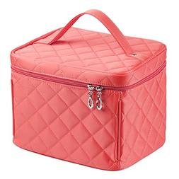 EN'DA big size Nylon Cosmetic bag with quality zipper single