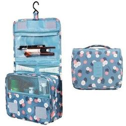 - HiDay Hanging Toiletry Organiser Travel Cosmetic Bag with