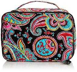 Vera Bradley Large Blush and Brush Makeup Cosmetic Case, Par