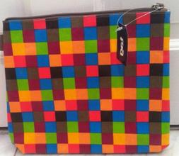 TAG Brand Checkerboard Cosmetic Case_Makeup Bag Pouch_Travel