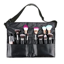 Makeup Brush Bag Professional Cosmetic Holder 28 Pockets Org