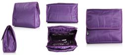 Beyond A Bag Cosmetic Caddy Travel Organizer Case, Grape, On