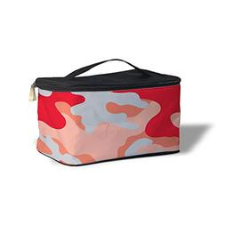 Queen of Cases Colored Camouflage Red - One Size Cosmetics S