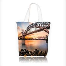 Canvas Beach Bags Sunset Evening View Picture Of Hell Gate A
