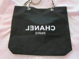 Chanel Canvas Cosmetic Tote Bag