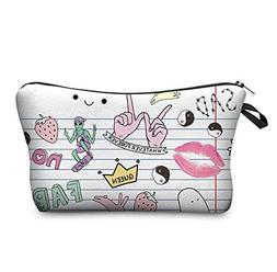 Jom Tokoy Women Travel Makeup Case