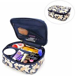 Travel Makeup Case/Bags Small Size,CLOTHOBEAUTY Cosmetic Mak