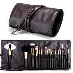 660481d348 Editorial Pick Makeup Brush Rolling Case Pouch Holder Cosmetic Bag Organize