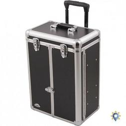Train Case On Wheels Rolling Stylist Large Makeup Profession