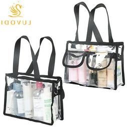 Cheap Large Clear Makeup Bag Transparent Cosmetic Toiletry B
