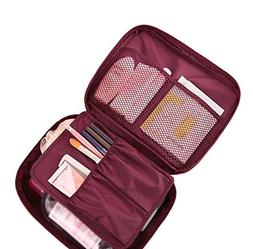 Cherry Roll Clear Cosmetic Makeup Bag Toiletry Travel Kit Or