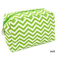 Chevron Make-Up Cosmetic Tote Bag Carry Case