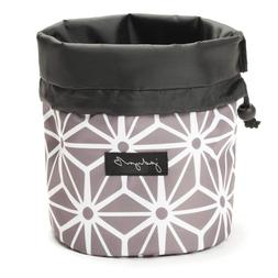 Jadyn B Cinch Top Compact Travel Makeup Bag and Cosmetic Org