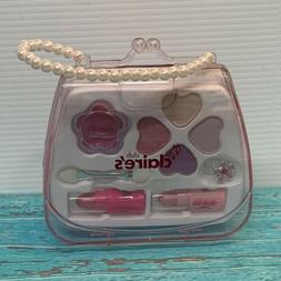Claire's Club Little Girls Makeup Bag Purse New Pearl Bead H