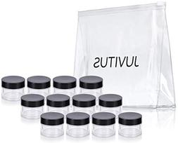 Clear Thick Wall Acrylic Travel Refillable Pot Container Jar