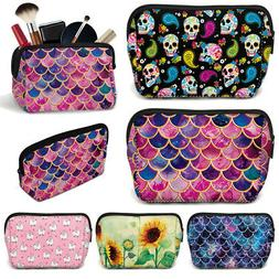 Colorful Design Women Cosmetic Pouch Makeup Toiletries Bag Z