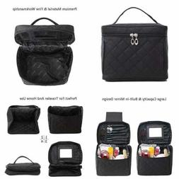 Halova Comestic Bag Travel Toiletry LARGE Cosmetic Train Cas