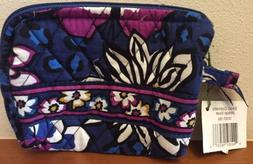 Vera Bradley  cosmetic bag small.  BRAND NEW African Viole