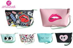 OH Fashion Cosmetic Bag Women Travel Bag Makeup Bag Clutch B