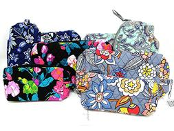 cosmetic makeup bag w zipper large or