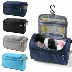 Cosmetic Makeup Toiletry Clear Nylon Travel Wash Bag Holder