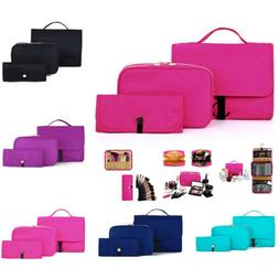 Cosmetic Organizer Makeup Brushes Case Holder Bag Pouch Toil